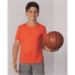 Gildan Performance® Youth T-Shirt - Performance short sleeve youth T-shirt with Aqua FX® wicking properties. Blank.