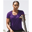 Gildan Performance® Core Women's T-Shirt - Women' Core Tech T-shirt with moisture management, antimicrobial properties, a semi-fitted silhouette, and deep scoop neckline.