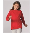 Gildan Heavy Cotton™ Youth Long Sleeve T-Shirt - Youth 5.3 oz pre-shrunk, 100% heavy cotton t-shirt. Blank product.