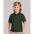 Gildan DryBlend® Youth Double Pique Sport Shirt - Gildan® Dryblend® Youth Double Pique Sport Shirt, blank.