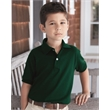 Hanes Youth Ecosmart® Jersey Sport Shirt - Youth sport shirt made of up to 5% recycled polyester from plastic bottles and 50% cotton / 50% polyester preshrunk jersey knit.