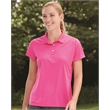Hanes Women's Cool Dri® Sport Shirt - Women's' sport shirt made of 100% polyester with UV protection, moisture wicking, and a tag-free neck label.