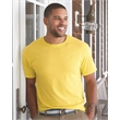 Hanes Ecosmart™ Short Sleeve T-Shirt - Hanes adult T-shirt made of cotton/polyester with up to 5% recycled polyester from plastic bottles.