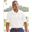 IZOD Silkwash Classic Pique Sport Shirt - Adult classic silk-wash pique sport shirt with knit cuffs and tapes seams. Blank.