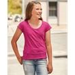 J. America Youth Glitter Short Sleeve T-Shirt - Youth Glitter T-Shirt.