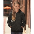 J. America Youth Glitter French Terry Hooded Sweatshirt - Youth Glitter French Terry Hooded Pullover