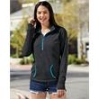 J. America Women's Cosmic Fleece Quarter-Zip Pullover - Women's Cosmic Fleece Quarter-Zip Pullover.