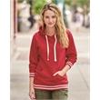 J. America Women's Relay Hooded Sweatshirt - Relay Women's Hooded Pullover Sweatshirt