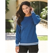 J. America Women's Relay Crewneck Sweatshirt - Relay Women's Crewneck Sweatshirt