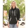 J. America Women's Relay Cowl Neck Sweatshirt - Relay Women's Cowlneck Sweatshirt