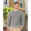 J. America Peppered Fleece Crewneck Sweatshirt - Peppered Fleece Crewneck Sweatshirt