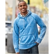 J. America Vintage Zen Fleece Hooded Sweatshirt - Adult fleece hooded pullover sweatshirt. Blank product.