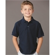 JERZEES Youth Easy Care Pique Sport Shirt - Youth Easy Care Sport Shirt