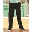 JERZEES Nublend® Youth Open Bottom Sweatpants - Youth 50/50 open bottom sweat pants, blank.