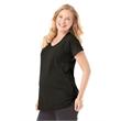LAT Women's Maternity Scoop Neck Fine Jersey Tee - Women's scoopneck maternity t-shirt. Blank.