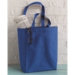 Liberty Bags Susan Tote - Gusseted cotton canvas tote. Blank product.