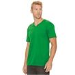 Next Level Cotton Short Sleeve V - Next Level Premium Jersey V-Neck T-Shirt, blank.