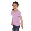 Next Level Girls' Princess Crew - Next Level Girls' Premium Jersey The Princess T-Shirt, blank.
