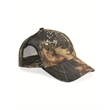Outdoor Cap Mesh-Back Camo Cap - Camo cap made of 60% brushed cotton /40% polyester twill. Blank product.