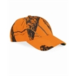 Outdoor Cap Classic Twill Camo Cap - Outdoor classic twill blaze orange cap 100% polyester. Blank product.