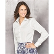 Van Heusen Women's Non-Iron Pinpoint Oxford Shirt - Ladies' non-iron pinpoint oxford shirt