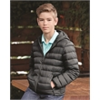 Weatherproof Youth 32 Degrees Packable Hooded Down Jacket - Weatherproof 32 Degrees Youth Packable Down Jacket, blank.
