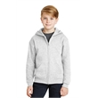 JERZEES - Youth NuBlend Full-Zip Hooded Sweatshirt. - JERZEES - Youth NuBlend Full-Zip Hooded Sweatshirt.