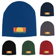 Knit Beanie - Classic beanie styles features double layer Acrylic fabric for warmth.