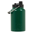 RTIC Half Gallon Forest Green Stainless Steel Jug - RTIC Half Gallon Forest Green Stainless Steel Bottle. Double Wall vacuum insulated. Holds ice for up to 24 hours.