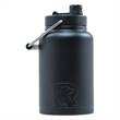 RTIC Half Gallon Black Stainless Steel Jug - RTIC Half Gallon Black Stainless Steel Bottle. Double Wall vacuum insulated. Holds ice for up to 24 hours.