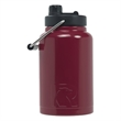 RTIC Half Gallon Maroon Stainless Steel Jug - RTIC Half Gallon Maroon Stainless Steel Bottle. Double Wall vacuum insulated. Holds ice for up to 24 hours.