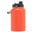 RTIC Half Gallon Orange Stainless Steel Jug - RTIC Half Gallon Orange Stainless Steel Bottle. Double Wall vacuum insulated. Holds ice for up to 24 hours.