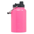 RTIC Half Gallon Pink Stainless Steel Jug - RTIC Half Gallon Pink Stainless Steel Bottle. Double Wall vacuum insulated. Holds ice for up to 24 hours.