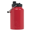 RTIC Half Gallon Red Stainless Steel Jug - RTIC Half Gallon Red Stainless Steel Bottle. Double Wall vacuum insulated. Holds ice for up to 24 hours.