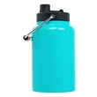 RTIC Half Gallon Teal Stainless Steel Jug - Half-gallon stainless steel jug with extra-wide opening, handle, double wall vacuum insulation and customization options.