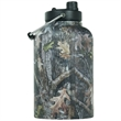 RTIC One Gallon Camo Stainless Steel Jug - One gallon stainless steel jug with extra-wide opening, handle, double wall vacuum insulation and customization options.