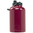 RTIC One Gallon Maroon Stainless Steel Jug - One gallon stainless steel jug with extra-wide opening, handle, double wall vacuum insulation and customization options.