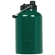 RTIC One Gallon Forest Green Stainless Steel Jug - One gallon stainless steel jug with extra-wide opening, handle, double wall vacuum insulation and customization options.