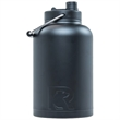 RTIC One Gallon Black Stainless Steel Jug - One gallon stainless steel jug with extra-wide opening, handle, double wall vacuum insulation and customization options.