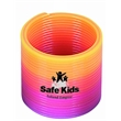 Mini Round Spring - Our ombre rainbow mini spring measures 1.5 inches in diameter and makes a great promotional gift.