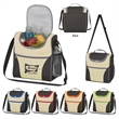 Field Trip Cooler Bag - Cooler bag made of 600 denier polyester with PEVA lining with a double zippered main compartment and multiple pockets.