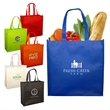 Fabulous Square Tote - Square tote made of non-woven polypropylene.