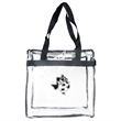 Bag - Clear Zippered Stadium Tote Bag - Clear zippered stadium tote bag.