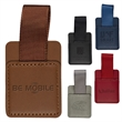 Tuscany™ Phone Loop - Phone loop made of soft faux leather thermo PU with adhesive backing.