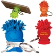 MopTopper™ Mobile Stand Cord Winder Key Chain - Mobile stand cord winder keychain.