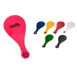 """Plastic Paddle Ball Game - 10 1/2"""" plastic paddle ball game; multiple colors available"""