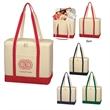 Large Cotton Canvas Kooler Bag - Large Cotton Canvas Kooler Bag.  16 oz. Canvas.  PEVA Lining.  Zippered Top Closure. Two Interior Mesh Pockets.