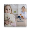Square Layered Absorbent Coaster - Square Layered Absorbent Coaster. Square ceramic coaster absorbs all moisture.