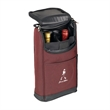 Wine Case - Wine case. Made of two tone 600D Polyester.