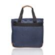 Lyon Two-Tone Polyester Messenger Bags